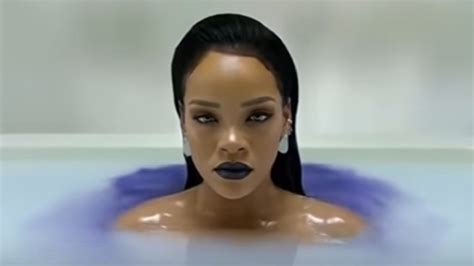 rihanna bathtub rihanna bath rihanna pictures rihanna love on the brain