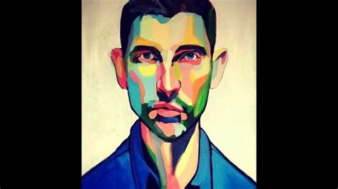 colorful portraits ting 229 rd swedish artist colorful portraits great