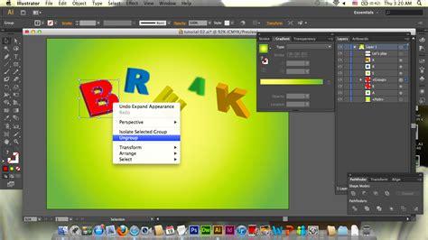 3d text effect illustrator tutorial ashley c 3d text effect illustrator tutorial ashley c