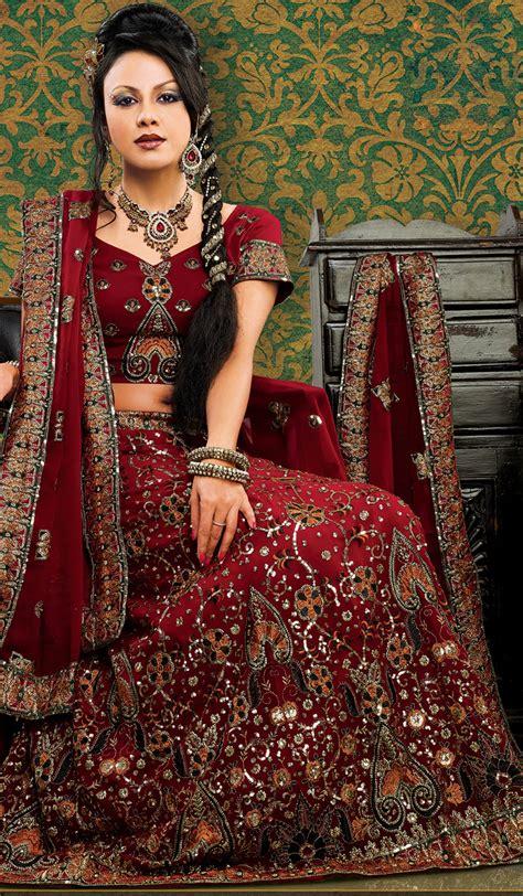 Anjani Maroon anjani fashion for fabulous pattern of choli daman