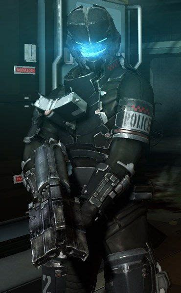 Dead Space Papercraft - new paper craft size dead space suit for