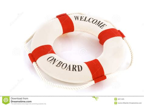 Sho Lifebuoy welcome on board royalty free stock photo image 4811425