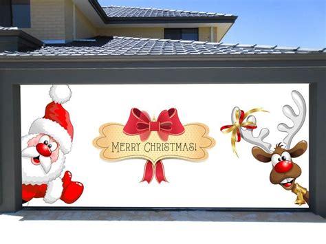 best christmas door covers 38 best decorations for garage door images on carriage doors garage doors