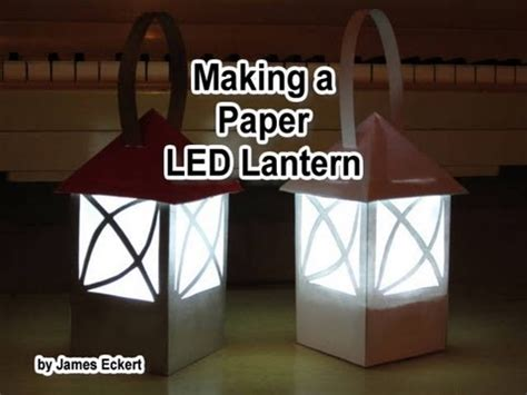 How To Make A Paper Lantern Like In Tangled - a paper led lantern