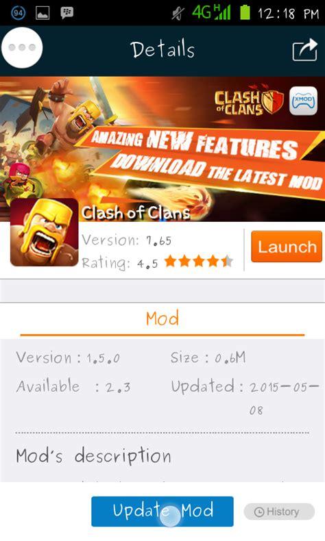 cara menggunakan x mood games untuk game clash of clans cara menggunakan x mod untuk clash of clans repela blog