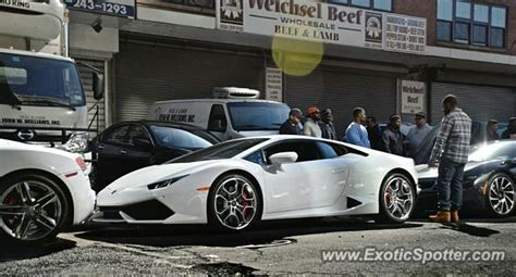 Lamborghini Manhattan Lamborghini Huracan Spotted In Manhattan New York On 04