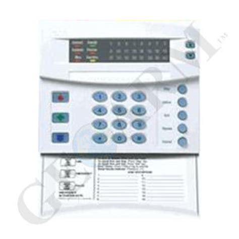 nx 1324e ge interlogix networx 24 zone led alarm keypad