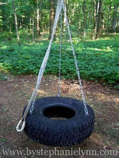 make your own tire swing tire swing hardware woodworking projects plans