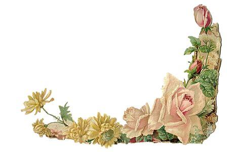 clip art vintage flower border littlereasonstosmile me