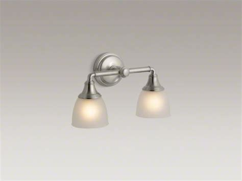 Kohler Devonshire Bathroom Lighting Kohler Devonshire R Wall Sconce Contemporary Bathroom Vanity Lighting By Kohler