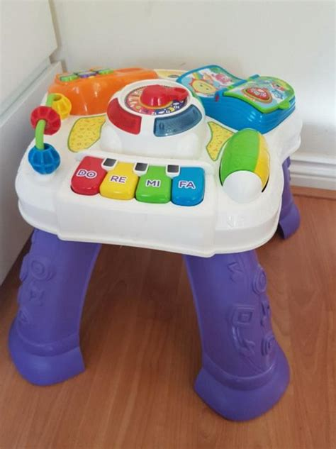 vtech busy play table vtech play and learn activity table outside black country