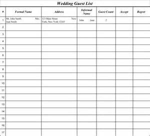 Free Wedding Planner Binder Wedding Guest List Spreadsheet Driverlayer Search Engine