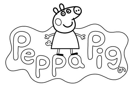 dibujos de navidad para colorear de peppa pig dibujos para pintar a peppa pig online divertidos