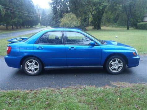 Subaru Wrx Warranty by Sell Used 2002 Subaru Wrx Impreza 5 Speed Turbo No Reserve