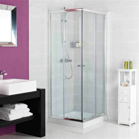 Corner Shower Enclosure by Space Saving Shower Enclosures Showers