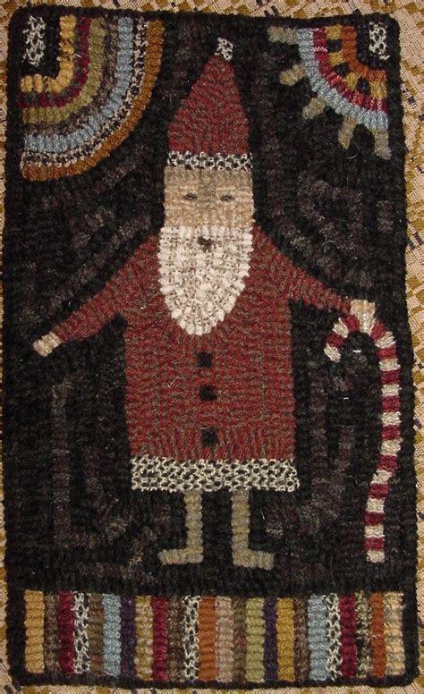 santa rugs 24 best santa rug hooking punch needle embroidery images on rugs rug