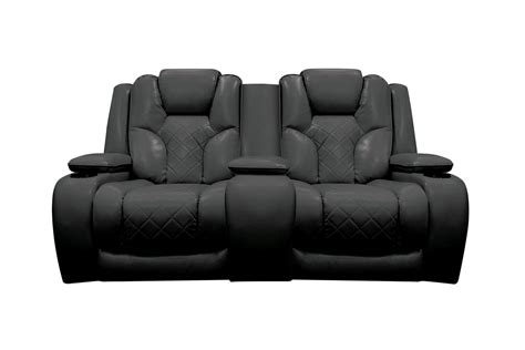 power reclining console loveseat bastille power reclining loveseat with console