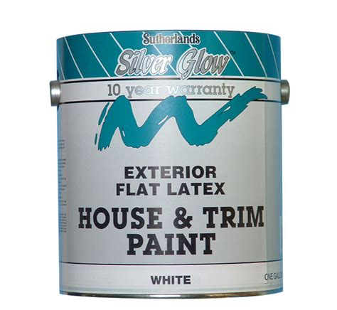 davis paint 44122 silver glow exterior paint house trim flat tint base gallon at
