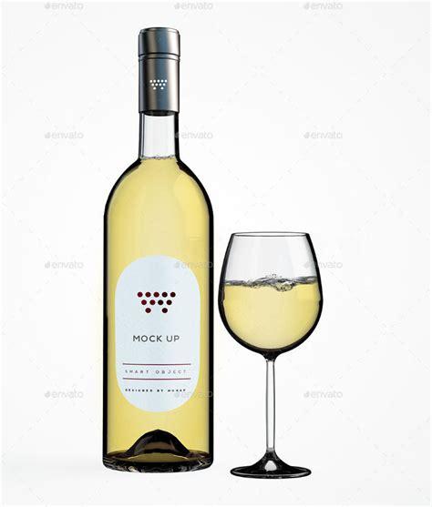 wine bottle mockups psd mockups design trends