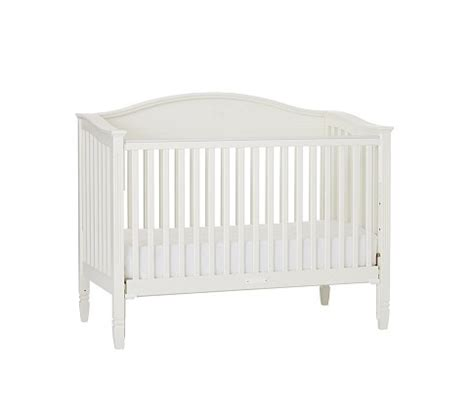 Fixed Gate Crib by Fixed Gate Crib With Water Base Finish Simply White Products Kid And Barns