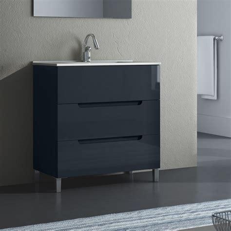 waschbecken mit unterschrank für gäste wc waschtisch stehend bestseller shop f 252 r m 246 bel und