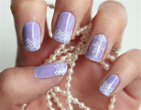 17 lace nail art ideas fashionsy com