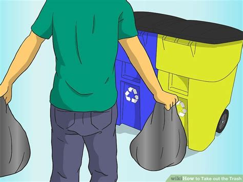 Taking Out The Trash With by 4 Ways To Take Out The Trash Wikihow
