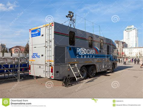 free mobile television mobile television station editorial image image 35064515