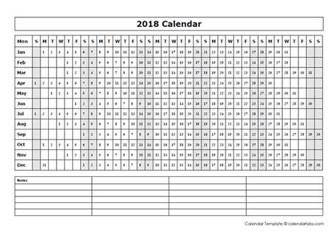 blank year   glance calendar  printable templates