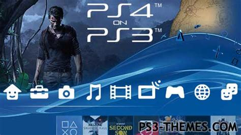 ps4 interface themes ps3 themes 187 ps4 on ps3