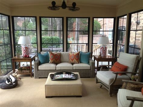 Screen Porch Windows Decor Diy Ezebreeze Windows And Doors The Best Of A Screened In Porch And A Sunroom Traditional