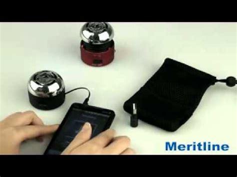 Go Rock Mono Mobile Speaker Trms02mc go rock mono mini portable speakers meritline 205 314 205 319