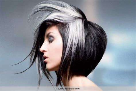 White Hairstyles by 15 Black And White Hairstyles Are You A Fan Of The Salt