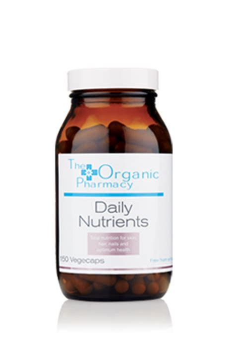 The Organic Pharmacy Detox Capsules by Daily Nutrients Mens Health Supplements The Organic