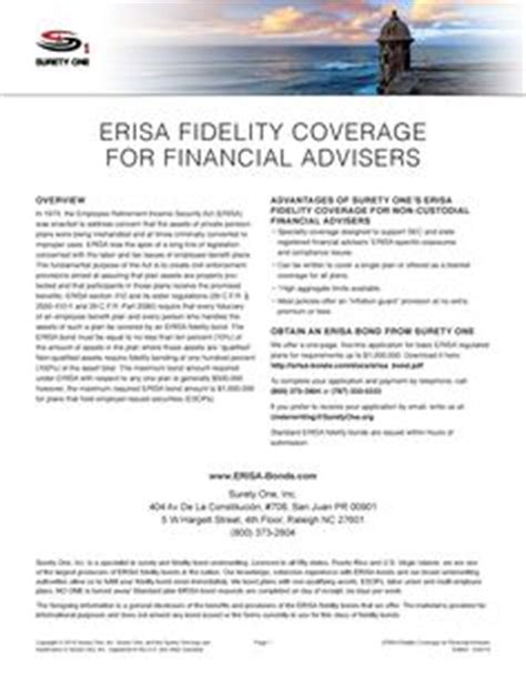 section 3 3 of erisa 1000 images about surety one inc on pinterest