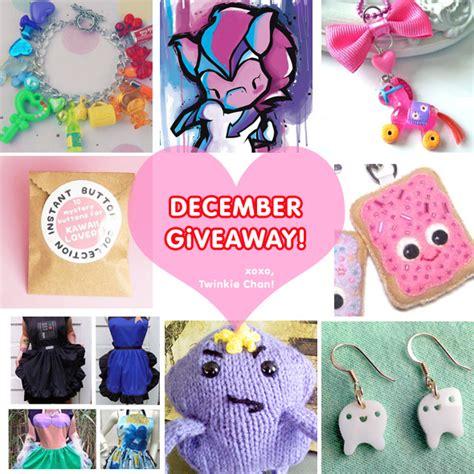 Sponsor Giveaway - december blog sponsor giveaway twinkie chan blog