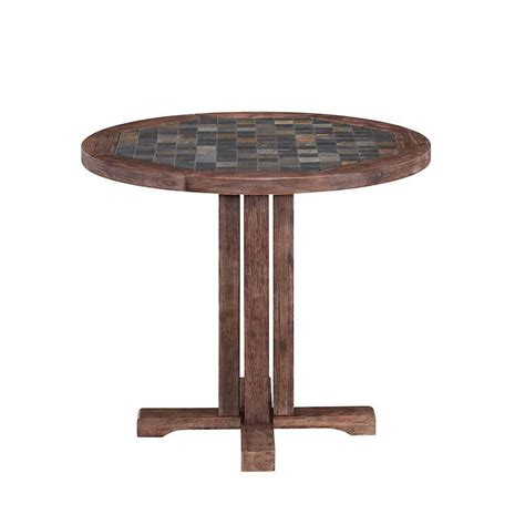 Home Depot Patio Table Trex Outdoor Furniture Monterey Bay 36 In Sand Castle Patio Dining Table Txrt236sc The