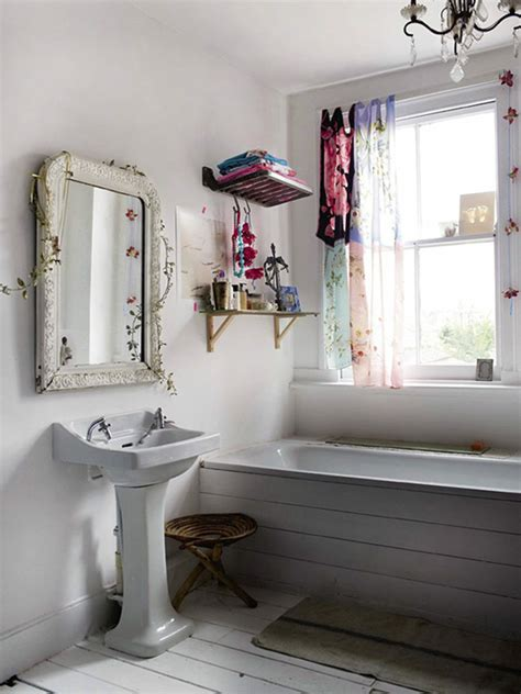 chic bathroom ideas small shabby chic bathroom interior design ideas