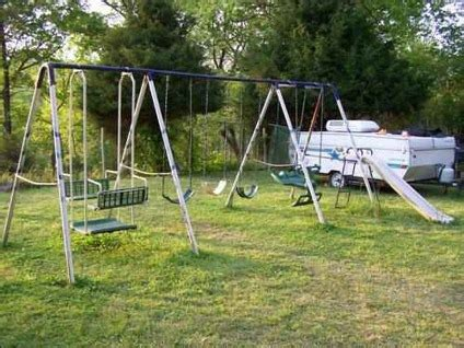 large metal swing sets hedstrom metal swing set prices how to build a diy shed