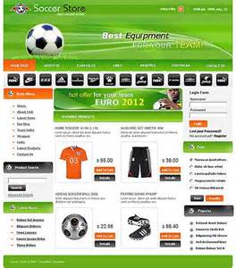 soccer template fussball website templates website templates