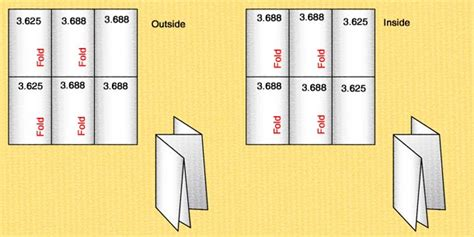 tri fold brochure sizes anuvrat info