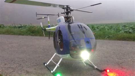 Hughes 500 Beleuchtung by Hubschrauber Set Mit 1 Watt High Power Leds 1x Lande 2x