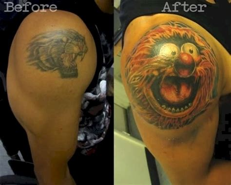 most creative tattoos 20 of the most creative cover ups 10 is just