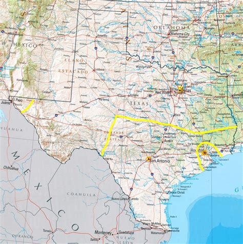 map of center texas electrical manufacturers representative