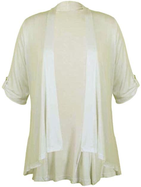 Sale Kimono Mandi Jumbo new womens plus size kimono waterfall jumbo cardigan 16 26 ebay