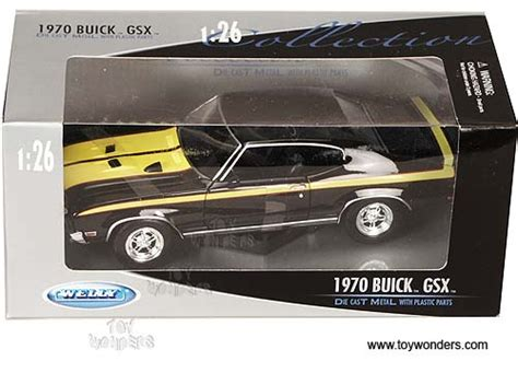 Welly Nex 1970 Buick Gsx 1 1970 buick gsx top by welly 1 24 scale diecast model car wholesale 2433bk