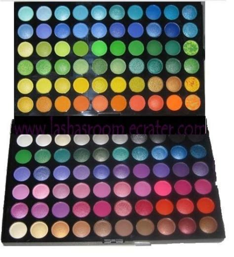 manly colors manly 120 color eye shadow palette make up kit eyeshadow