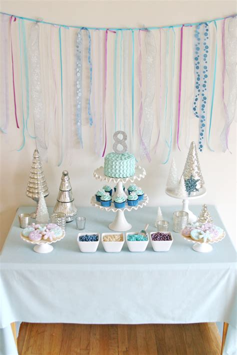 Baby Shower Table Decoration Ideas Frozen Birthday Party Glorious Treats