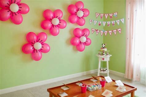 simple balloon decoration for birthday at home simple and easy birthday balloon decorations