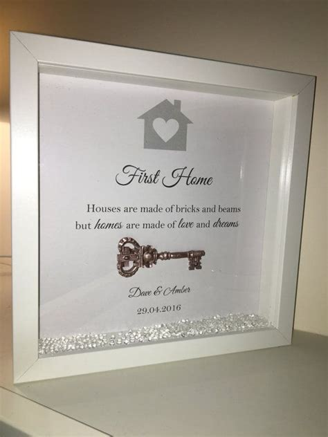 Wedding Box Frame Ideas by Handmade Personalised Box Frame New Home Or By